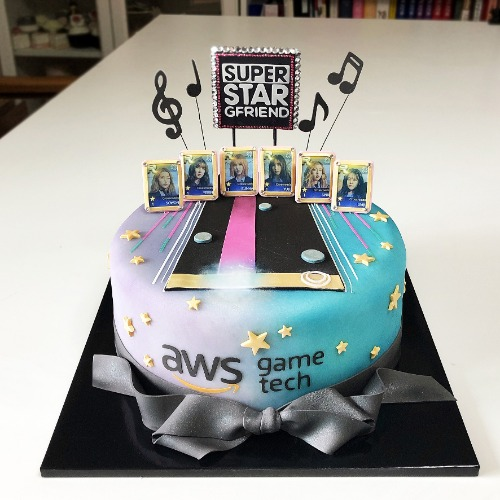 Superstar gfriend cake