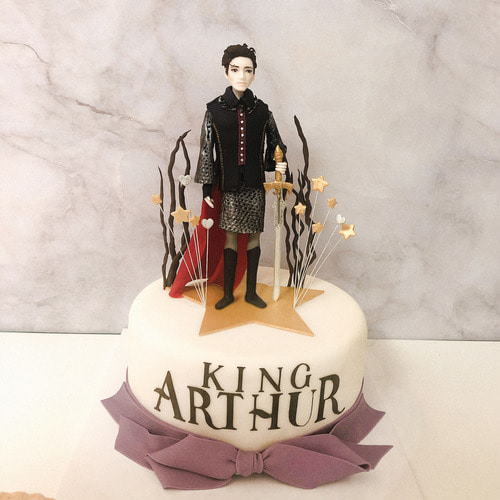 Musical King Auther Cake